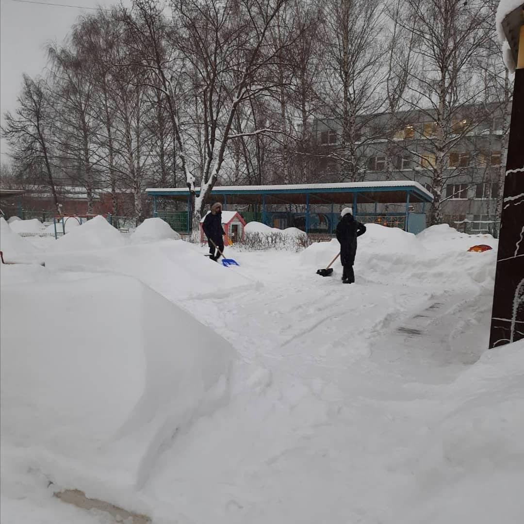 Обеспечение безопасных условий в зимний период